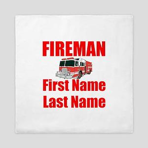 Fireman Queen Duvet