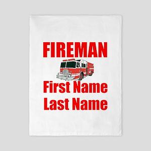 Fireman Twin Duvet