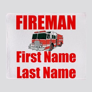 Fireman Throw Blanket