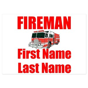 Fire Truck Invitations And Announcements Cafepress