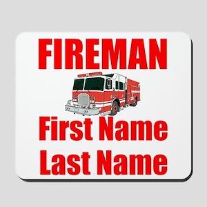 Fireman Mousepad