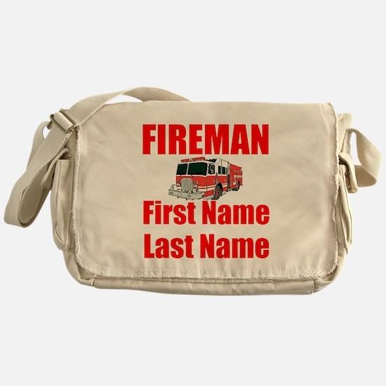 Fireman Messenger Bag