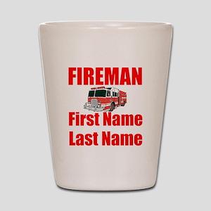 Fireman Shot Glass