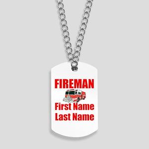 Fireman Dog Tags