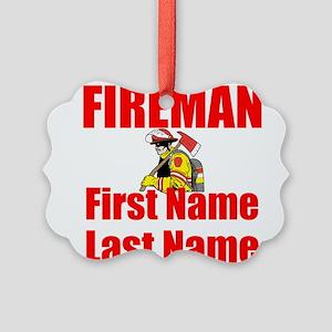 Fireman Ornament