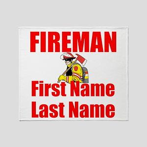 Fireman Throw Blanket