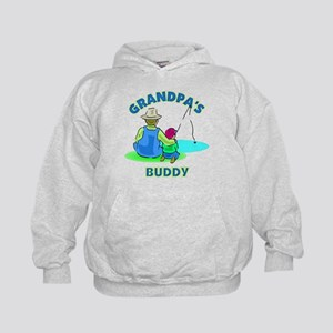 Grandpa's Buddy Kids Hoodie