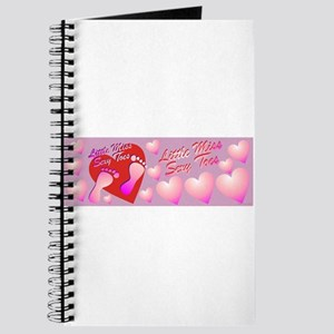 Little Miss Sexy Toes Journal