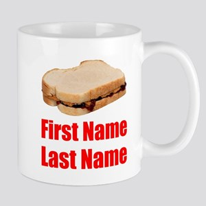 Peanut butter and Jelly Sandwich Mugs