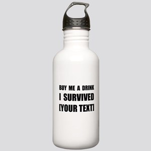 I Survived Personalize It! Water Bottle