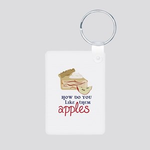 Like Them Apples Keychains