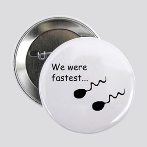 TWIN (SPERM HUMOR) Button