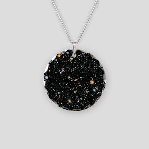 Evolving Universe Necklace Circle Charm