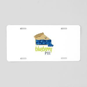 Blueberry Pie! Aluminum License Plate