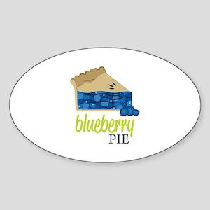 Blueberry Pie! Sticker