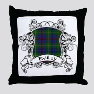 Bailey Tartan Shield Throw Pillow