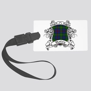 Bailey Tartan Shield Large Luggage Tag