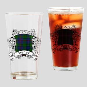 Bailey Tartan Shield Drinking Glass