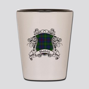 Bailey Tartan Shield Shot Glass