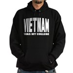 Vietnam was my college Hoodie (dark)