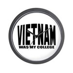 Vietnam was my college Wall Clock