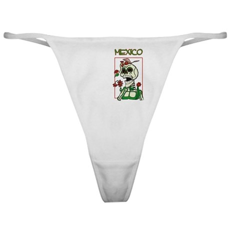 Mexico Day of the Dead Classic Thong