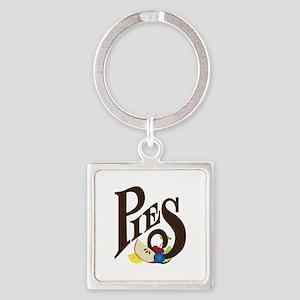 Pies Keychains