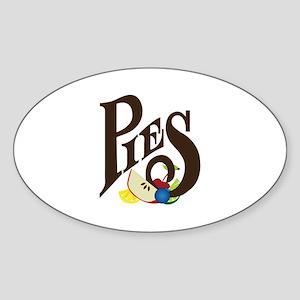 Pies Sticker
