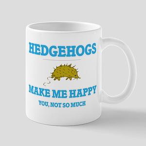 Hedgehogs Make Me Happy Mugs