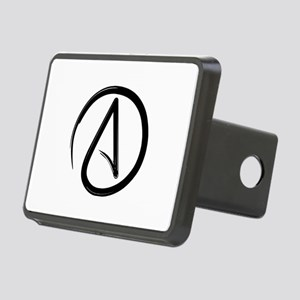 Atheist Symbol Hitch Cover