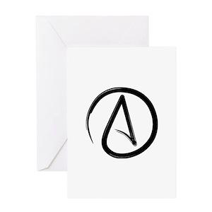 Atheist greeting cards cafepress m4hsunfo
