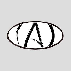 Atheist Symbol Patches