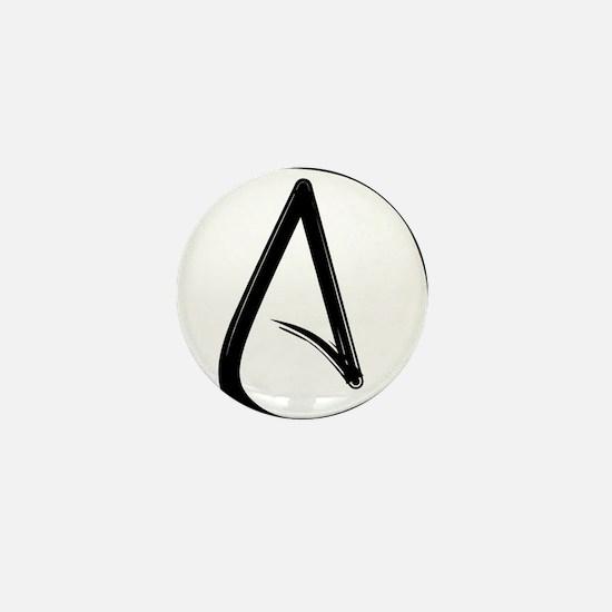 Atheist Symbol Mini Button