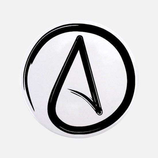 """Atheist Symbol 3.5"""" Button"""