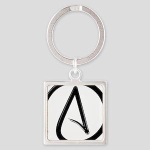 Atheist Symbol Keychains