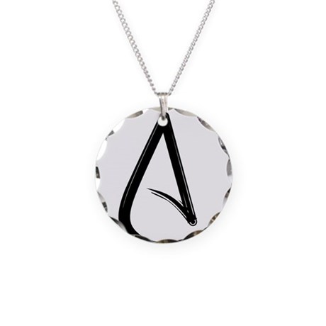 Atheist Symbol Necklace By Ohnogod