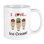 I Love Ice Cream Mug