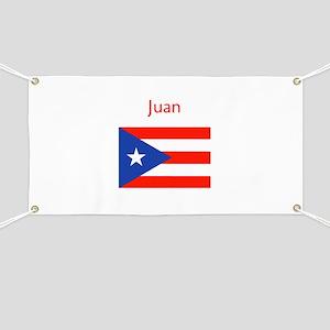 Custom Name Bandera Boriqua 23 Pahtay Banner