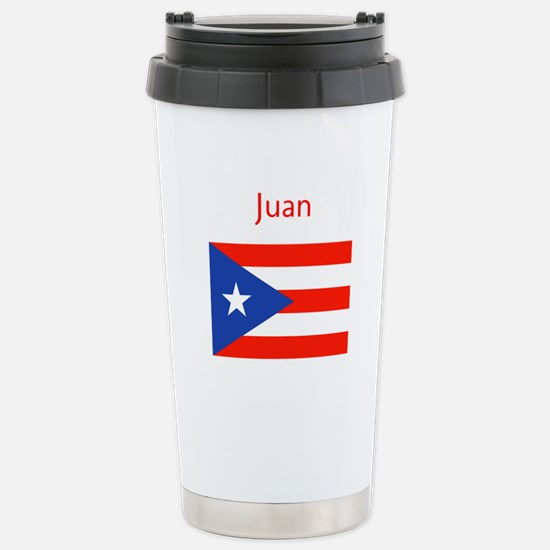 Custom Name Bandera Boriqua 23 Pahtay Travel Mug