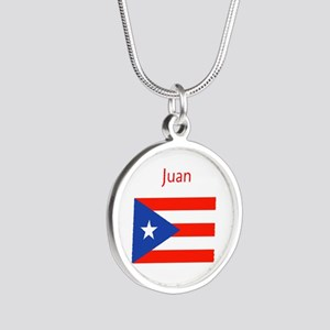 Custom Name Bandera Boriqua 23 Pahtay Necklaces
