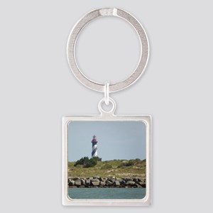 Vilano View of St. Augustine Lighthouse Keychains