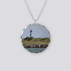 Vilano View of St. Augustine Lighthouse Necklace