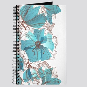 Pretty Floral Journal