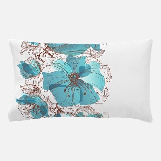 Pretty Floral Pillow Case