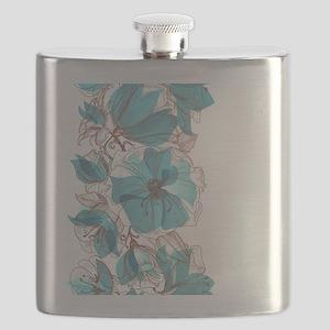 Pretty Floral Flask