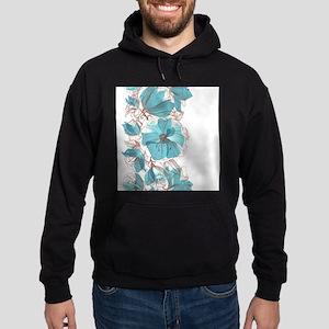 Pretty Floral Hoodie