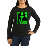 Women's Long Sleeve Dark Dance T-Shirt