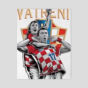 Croatia Soccer Vatreni Luka and Mario Twin Duvet