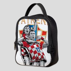 Croatia Soccer Vatreni Luka and Mario Neoprene Lun