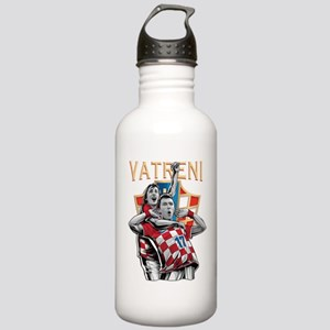 Croatia Soccer Vatreni Luka and Mario Water Bottle
